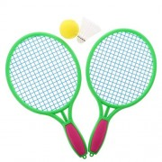 ELECTROPRIME® 5X Medium Tennis Set 2 Tennis Rackets with 2 Balls Tennis Racket Ball Set Toys