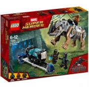 Конструктор Лего Супер Хироус - Rhino Face-Off by the Mine, LEGO Super Heroes, 76099