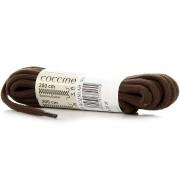 COCCINE brązowe sznurowadła bawełniane 200 cm - brązowy