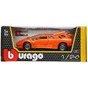 Bburago Lamborghini Diablo Bburago Scale-1:24 Die Cast Toy Car (Orange)