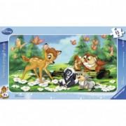 RAVENSBURGER puzzle (slagalice) - Bambi sa prijateljima RA06039