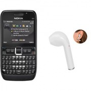 Refurbished Nokia E63 Black ( 1 Year Warranty Bazaar warranty) i7 Bluetooth Free