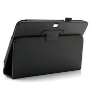 Samsung Galaxy Tab 3 10.1 P5200, P5210 Folio Leren Tas - Zwart