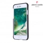 Pierre Cardin lederen backcover hoes - iPhone 7 / 8 - donkerbruin
