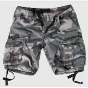 pantaloni scurți bărbați SURPLUS - airborne Epocă - Nightcamo - 07-3598-31