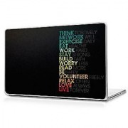 Motivational Quote Laptop Skin 15.6 Inch - High Quality 3M Vinyl