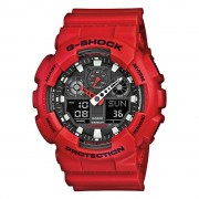 Часовник G-SHOCK - GA-100B-4AER Red/Red