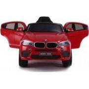 Masinuta electrica pentru copii BMW X6 M cu licenta originala un loc roti EVA telecomanda 2.4 Ghz rosu
