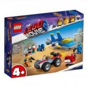 Конструктор Лего Филмът 2 - Работилницата на Емет и Бени, LEGO Movie 2, 70821