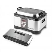 Klarstein Tastemaker + Foodlocker Pro, készlet vákuumos főzéshez (sous-vide), elektromos főzőedény + vákuumozó gép, 550 W/6 l, 0,8 bar (PL-28297-29742)
