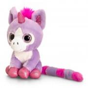 Unicorn de plus cu ochi stralucitori Keel Toys, 14 cm, Mov, 1 an+