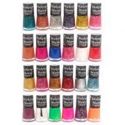 Makeup Mania Exclusive Nail Polish Set Of 24 Pcs (Multicolor Set # 71-77)