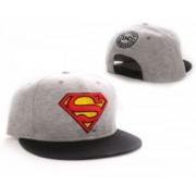 Superman Adjustable Logo gri - sapca ajustabila