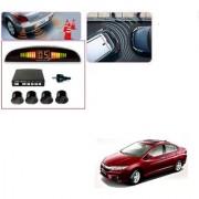 Auto Addict Car Black Reverse Parking Sensor With LED Display For Honda Idtec (2010-2014)