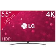 LG 55SM9010PLA tv 139,7 cm (55'') 4K Ultra HD Smart TV Wi-Fi Zwart, Zilver