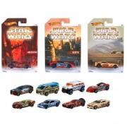 Mattel modellini auto hot wheels djl03 – star wars scala 1:64 assortiti (no scelta)
