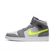 Nike Scarpa Air Jordan 1 Mid - Uomo - Grigio