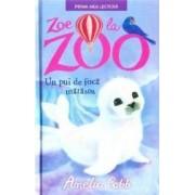 Zoe la zoo. Un pui de foca matasos - Amelia Cobb