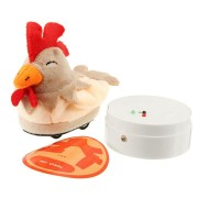 Remote Control Plush Cock Electric Infrared Sensor For Kids Gift Toy With Remote Controller