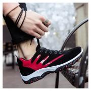 Zapatos Fashion-Cool Para Hombre-Negro Y Rojo