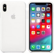 Apple Custodia Apple In Silicone Per Iphone Xs Max - Bianco
