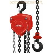 Yato láncos csigasor emelő 0,5t (YT-58950)