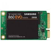 Твърд диск ssd samsung 860 evo series, 250 gb 3d v-nand flash, msata, mz-m6e250bw