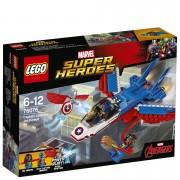 LEGO Marvel Superheroes: Captain America Jet Pursuit (76076)