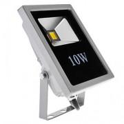 Proiector LED 10W Slim Alb Rece 220V