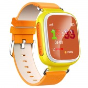 Smartwatch Infantil de Monitorização GPS com Função Mãos Livres Q70 - Amarelo
