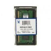 Kingston DDR3 2GB KVR16LS11S6/2 SODIMM
