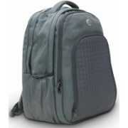Harissons Cyber 33 L Free Size Laptop Backpack(Grey)