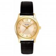 Reloj Bulova Corporate 97V25 Para Dama-Dorado TIME SQUARE