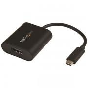 Adaptador de Video Externo USB-C a HDMI - Convertidor USB Tipo C a HDMI 4K 60Hz con Interruptor de Modo de Presentación, CDP2HD4K60SA