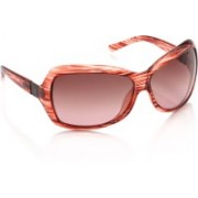 Miami Blues Over-sized Sunglasses(Brown, Pink)