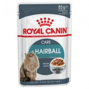 24 x 85 g Royal Canin hairball care in saus Kattenvoer