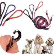 Pet Lead Training Walk Rope 165cm Long Strong Nylon Dog Puppy Leash Dog Traction Rope