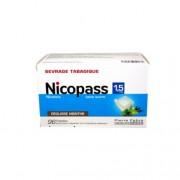 Nicopass 1,5 mg Menta Fresca 96 Pastilhas