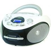 Majestic Ah-2387r Wh Boombox Stereo Digitale Lettore Cd Mp3 Usb Cassetta Colore Nero / Bianco - Ah-2387r Wh