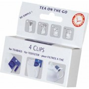 Finum Clips for Teabags klipsy do filtrów 4 szt.