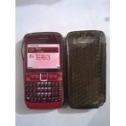 Черен силиконов гръб за Nokia E63