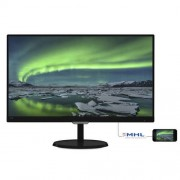 "Monitor IPS, Philips 23"", 237E7QDSB/00, 5ms, 20Mln:1, DVI/HDMI/MHL, FullHD"