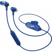 HEADPHONES, JBL E25 BT, Bluetooth слушалки с микрофон за iPhone, iPod, iPad и моб. у-ва, Син
