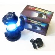 Lanterna Super LED 1W + 18 LED-uri Camping - iluminare 360 grade