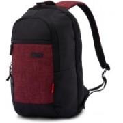 Harissons HB1142BLACKMAROON 23 L Backpack(Maroon, Black)