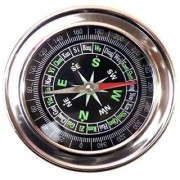 Gifteniaa The World Of Gifts Stainless Steel Directional Magnetic Camping Hiking Feng Shui Outdoor Travel Compass