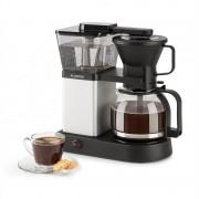 Klarstein GrandeGusto, aparat de cafea, 1690 W, 1.3 l, pre-infusion, 96° C, negru/argintiu (COF9-GrandeGusto)