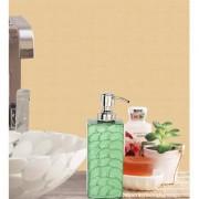 Zahab Stainless Steel Wall Mounting 500ml Soap Dispenser- Green