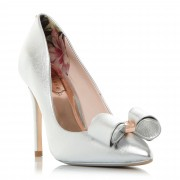 Ted Baker Azeline Bow Trim Pointed Court Shoes