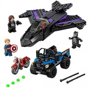 LEGO Super Heroes Panther Pursuit 76047 - Black